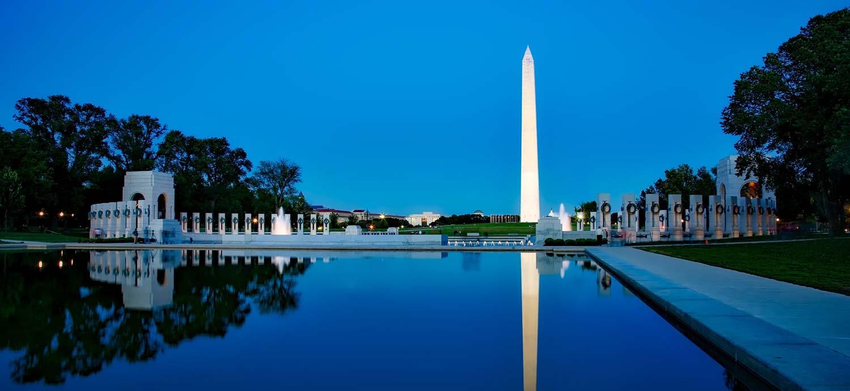 Washington DC during night